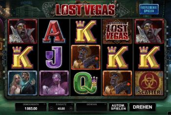 Lost Vegas von Microgaming