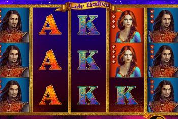 Lady Godiva Spielautomat